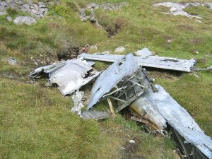 Catalina wreckage