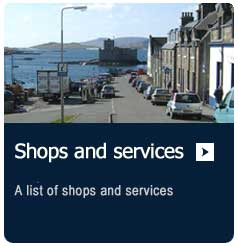 shops and services on the Isle of Barra