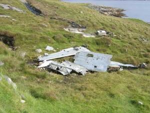 Catalina wreckage