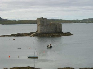 kismul Castle isle of Barra