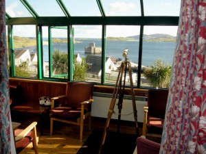 Castlebay Hotel Sunroom