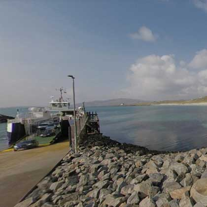 Isle of Barra Eriskay Ferry