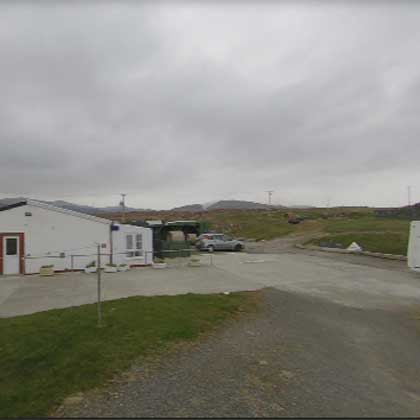 Isle of Barra Croft 183 campsite