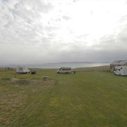 Isle of Barra Croft 2 campsite